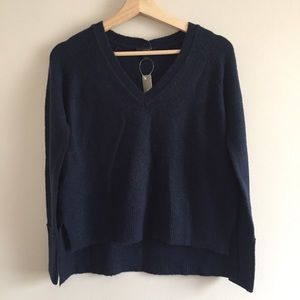 j crew | v-neck sweater in supersoft yarn